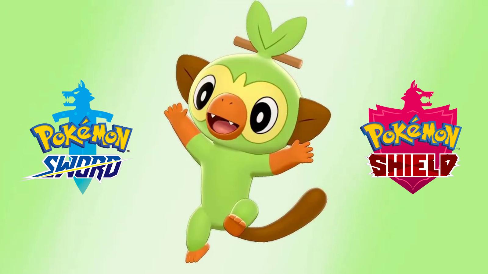 Pokemon Grookey Sword Shield