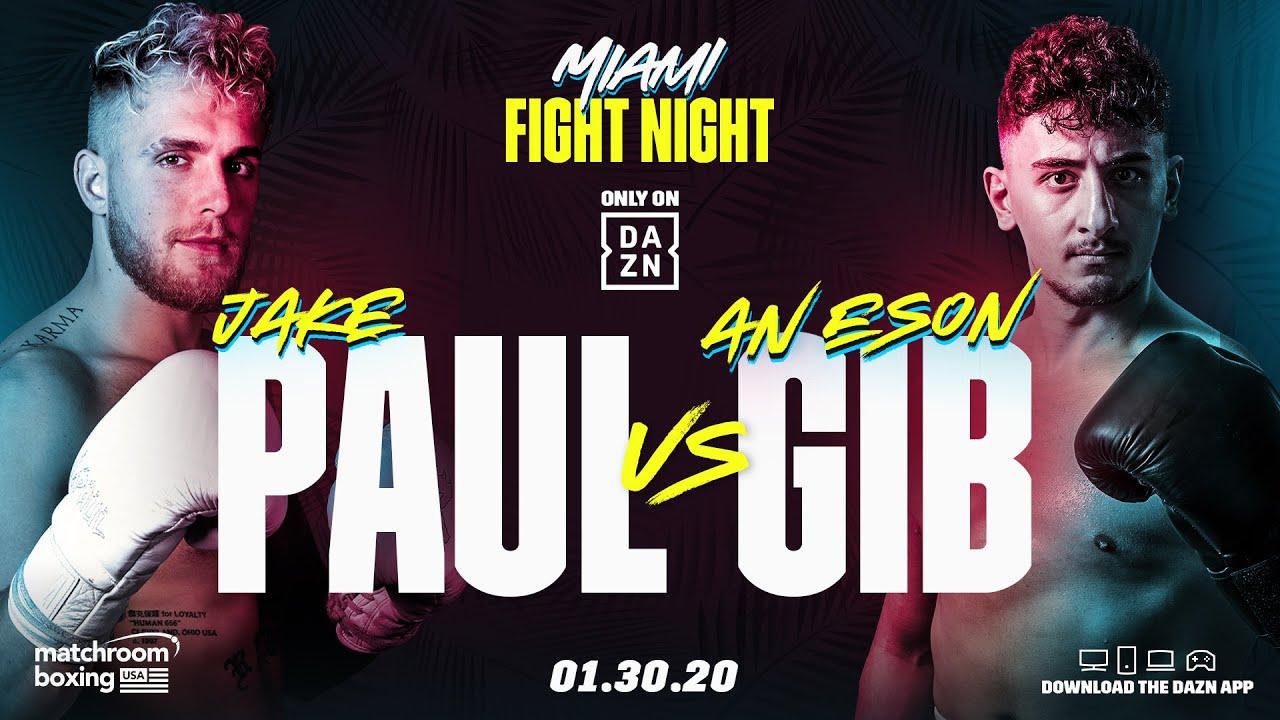 jake paul vs anesongib youtube boxing
