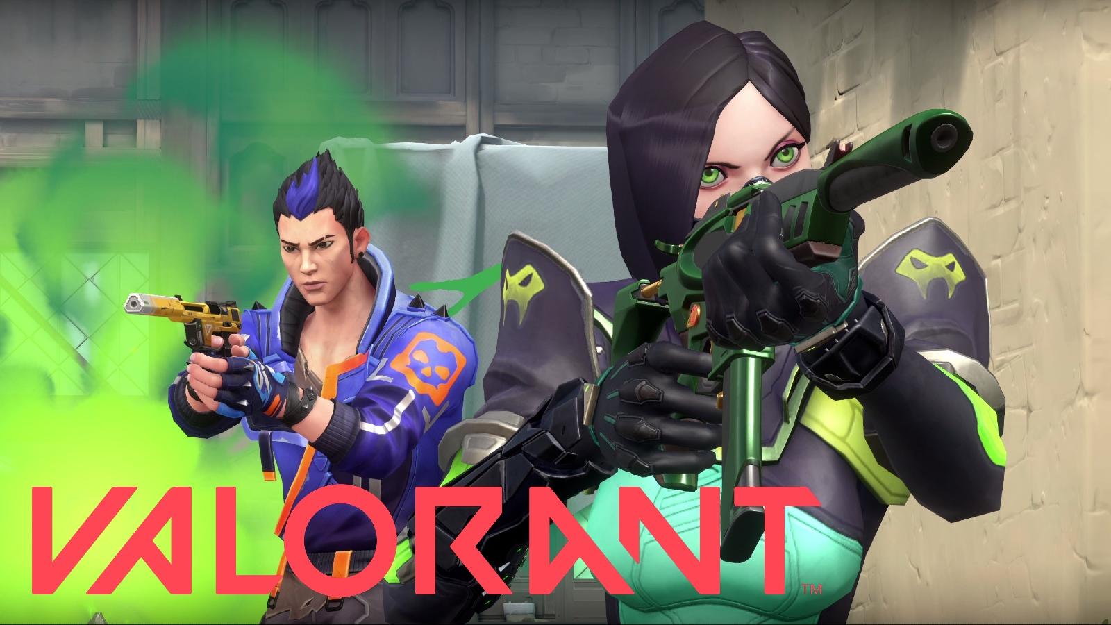 Valorant Viper and Yoru