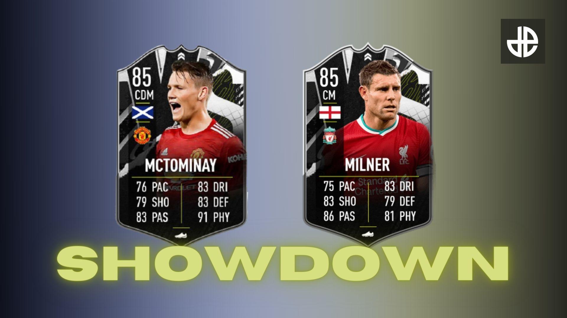 McTominay and Milner Showdown SBC FIFA 21 Header