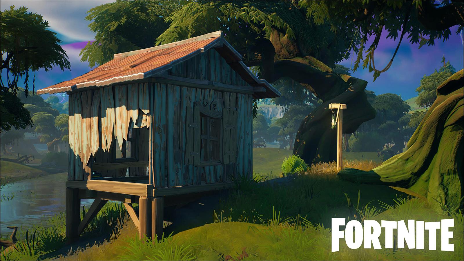 Fortnite Slurpy Swamp Houses