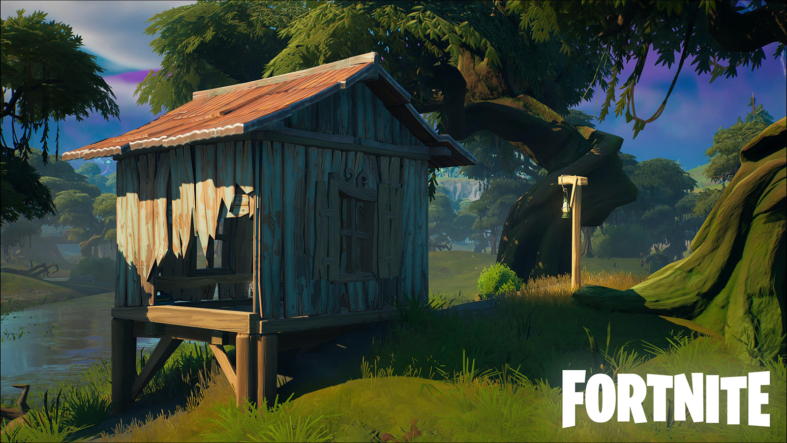 Fortnite Slurpy Swamp Houses