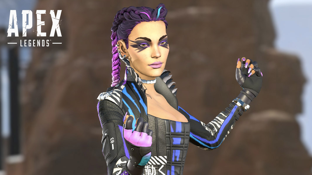 Apex Legends' Loba pointing