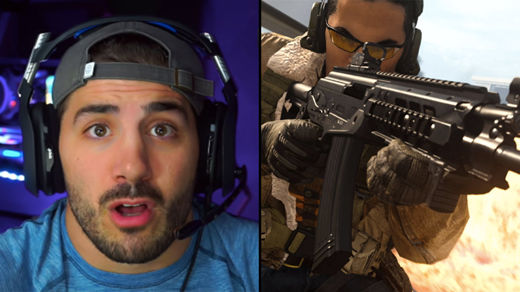 NickMercs and the AMAX in CoD Warzone