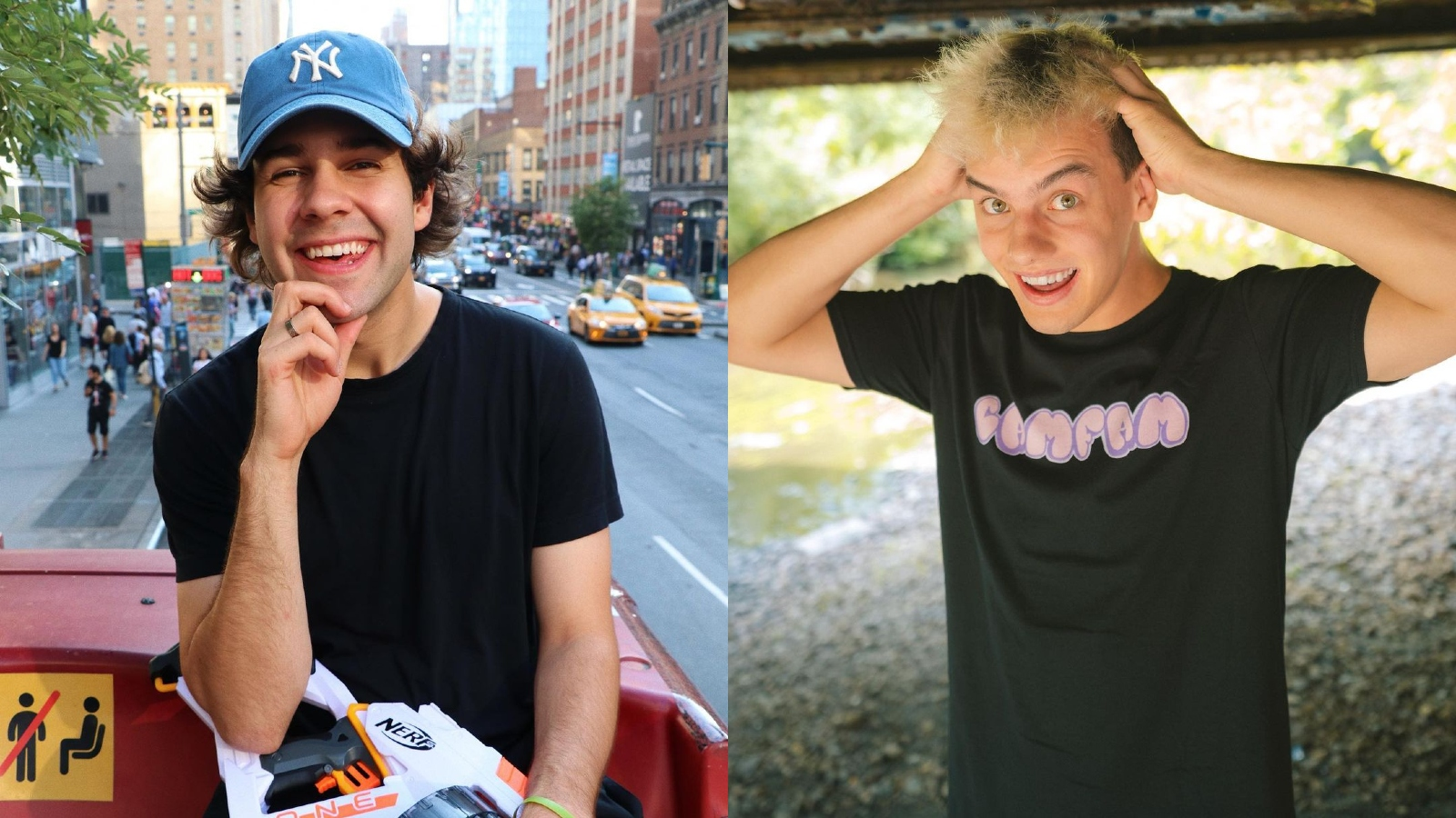 David Dobrik and Cam Casey