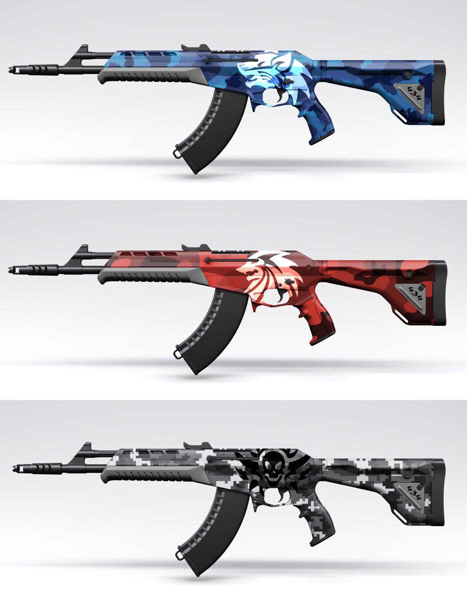Variants for RivalRudra skins