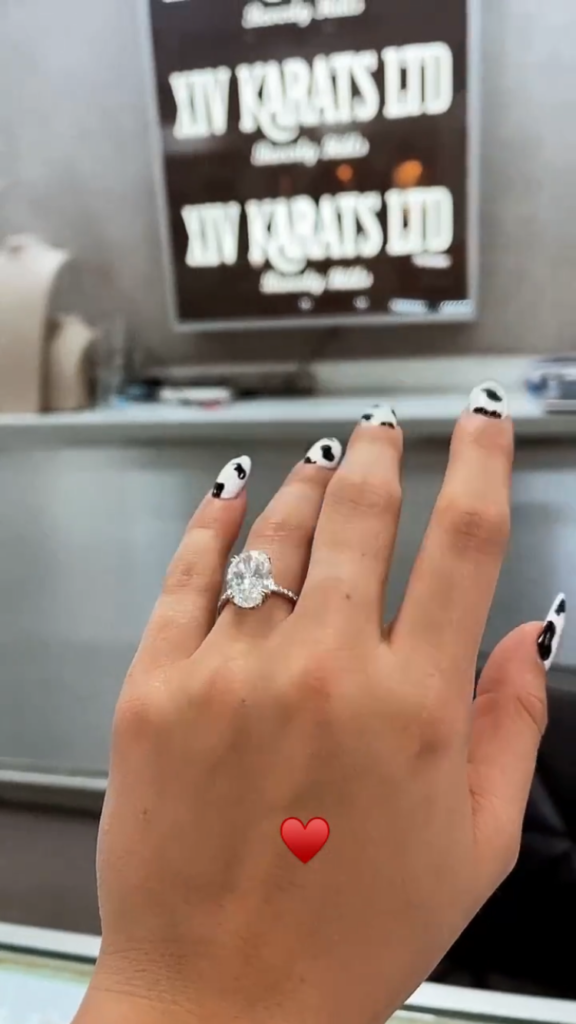 Addison Rae engaged
