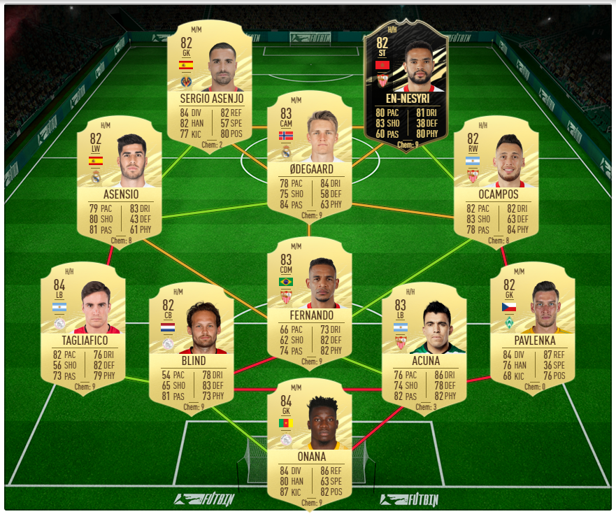 Jay-Jay Okocha The Artist SBC solution in FIFA 21