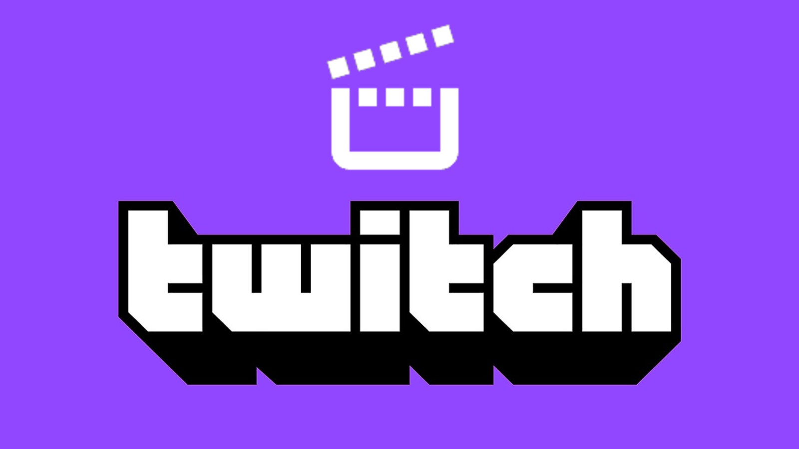 Twitch logo beneath the clip logo