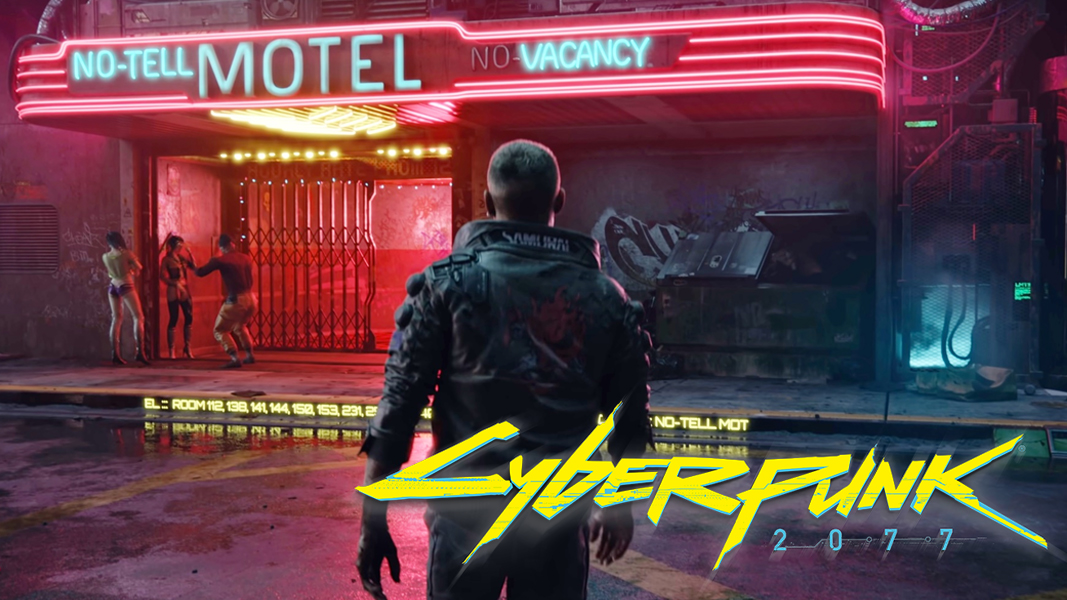 V visiting motel in Cyberpunk 2077