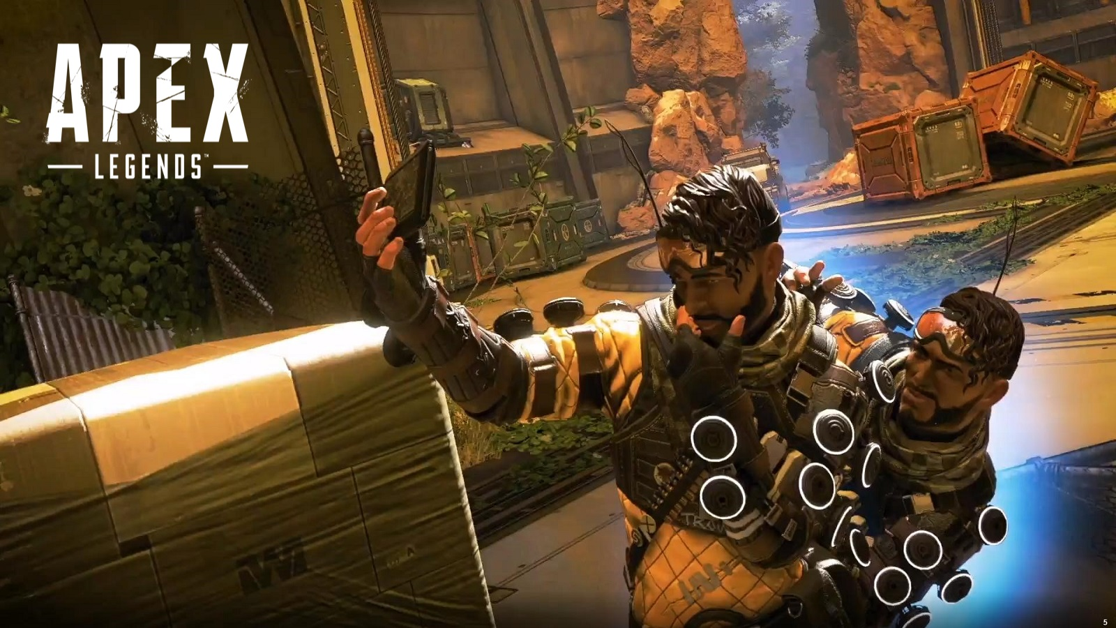 Apex Legends Mirage Selfie With Logo