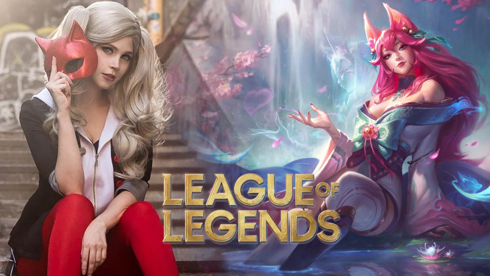 League of Legends Spirit Blossom Ahri Cosplay