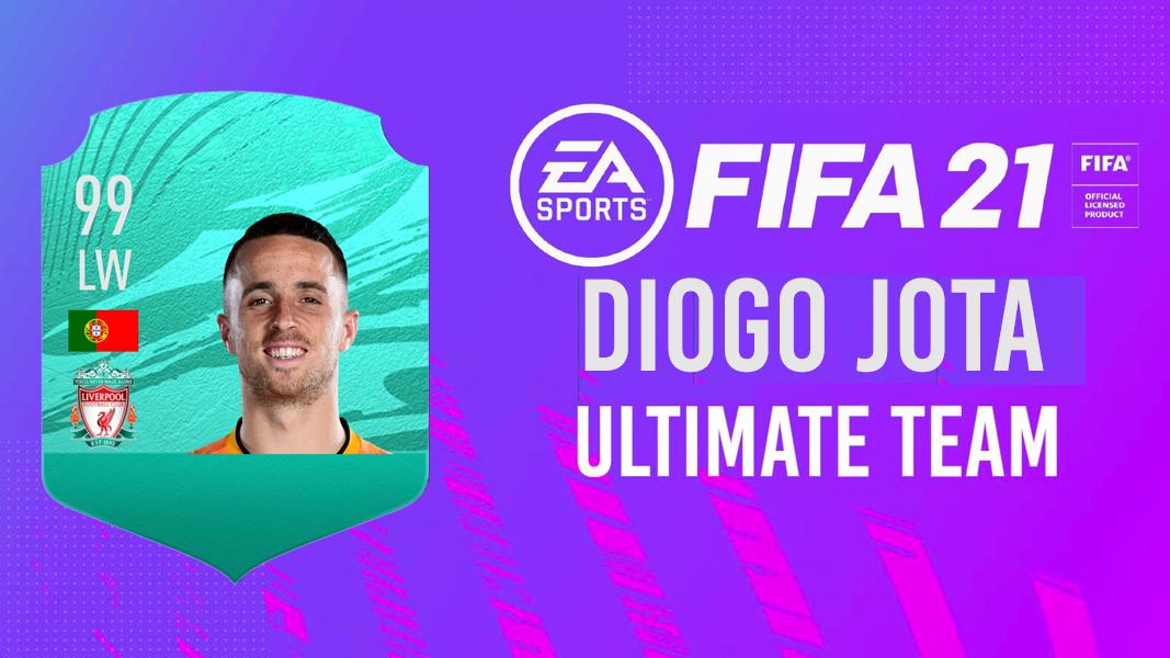 Diogo Jota FIFA 21 Ultimate Team