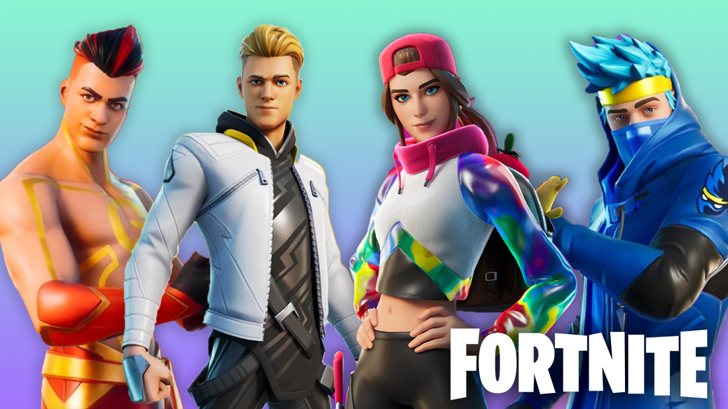 Fortnite Icon Series skins