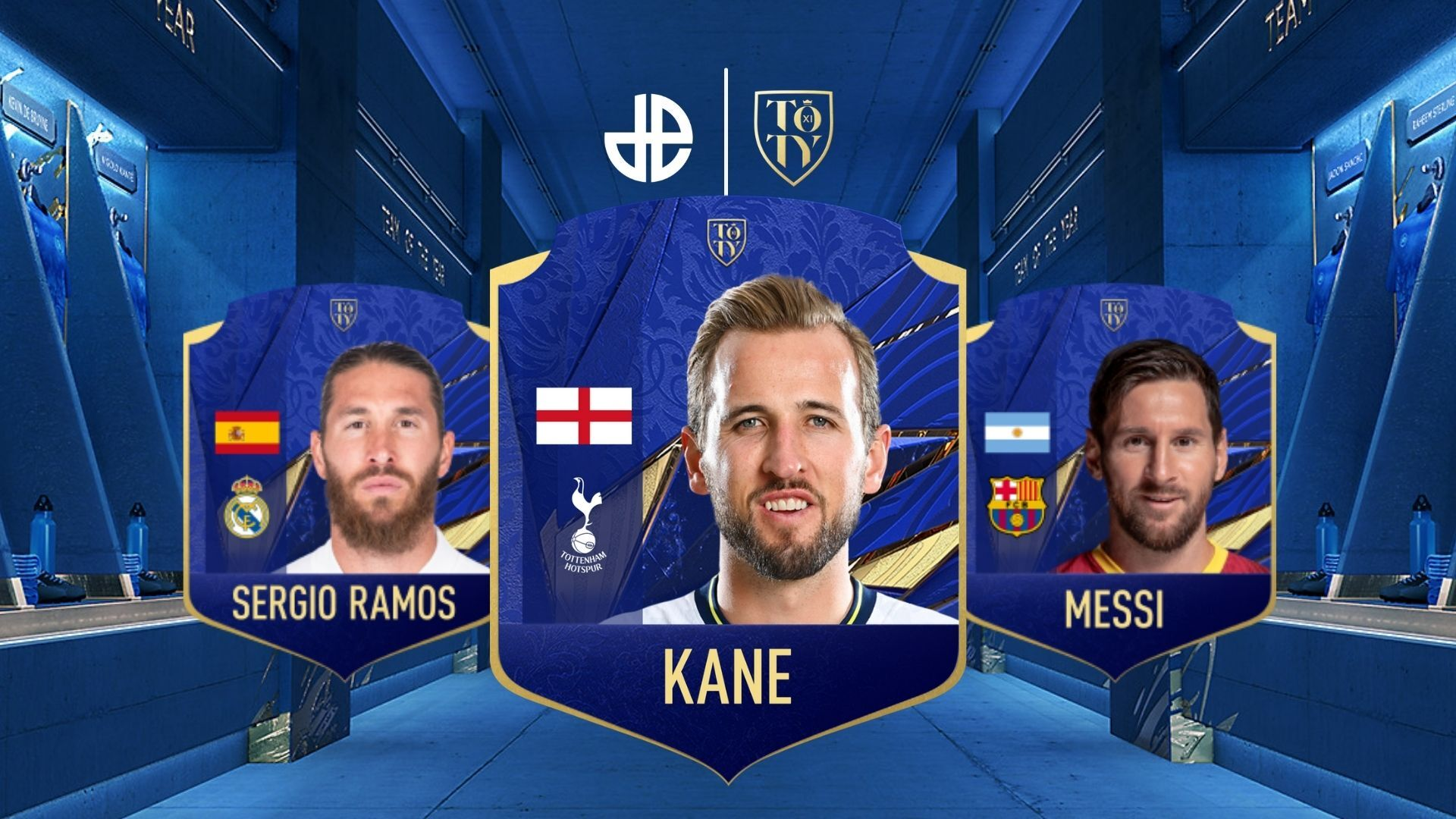 Messi, Ramos and Kane TOTY 21 Fifa