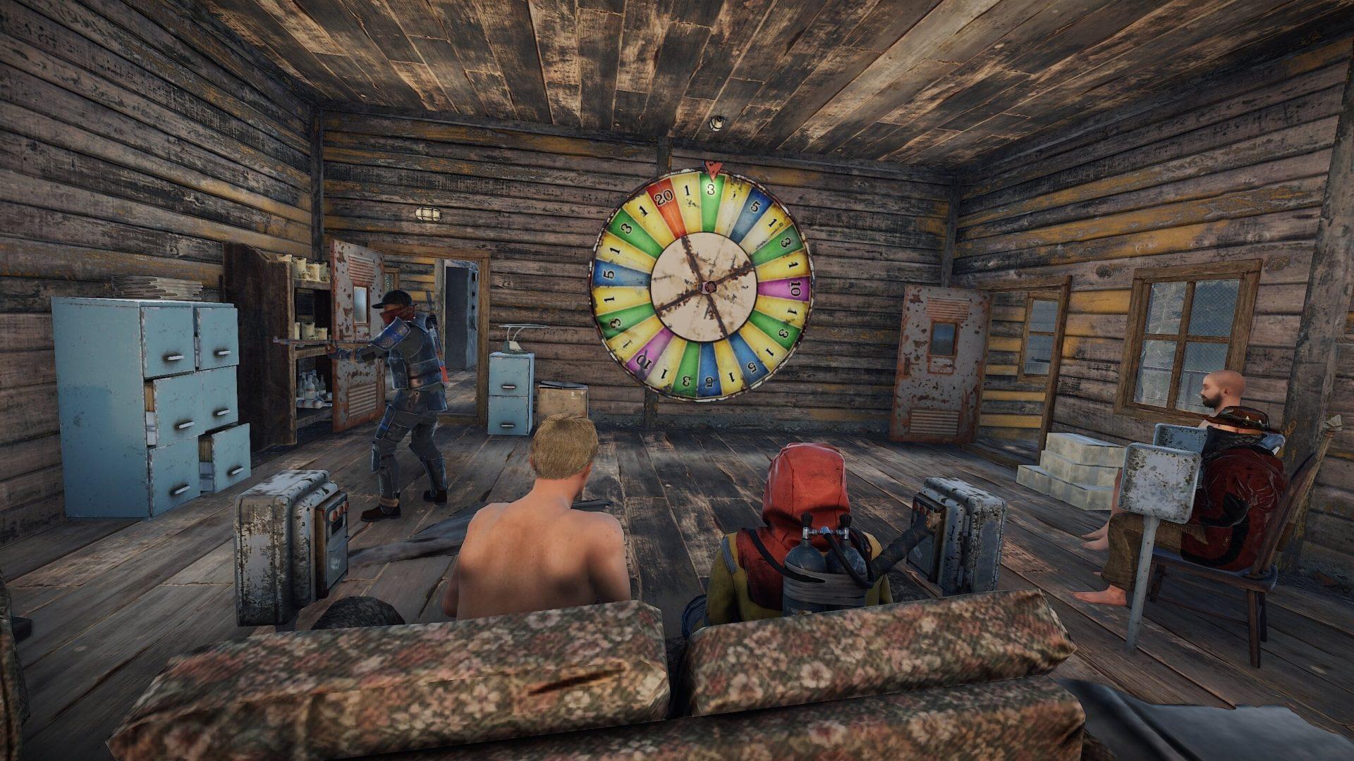 Rust Bandit Camp Wheel