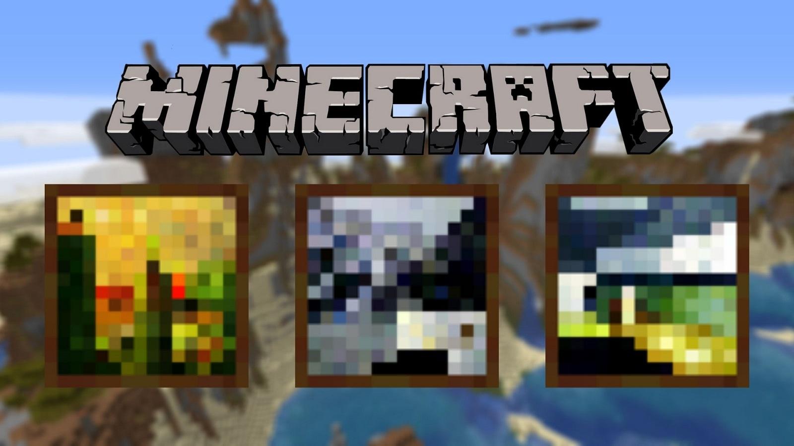 Minecraft painting