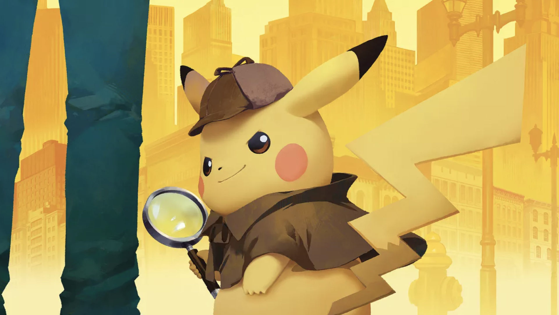 Detective Pikachu promotional image screenshot.