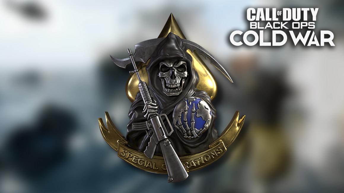 Black Ops Cold War prestige icon
