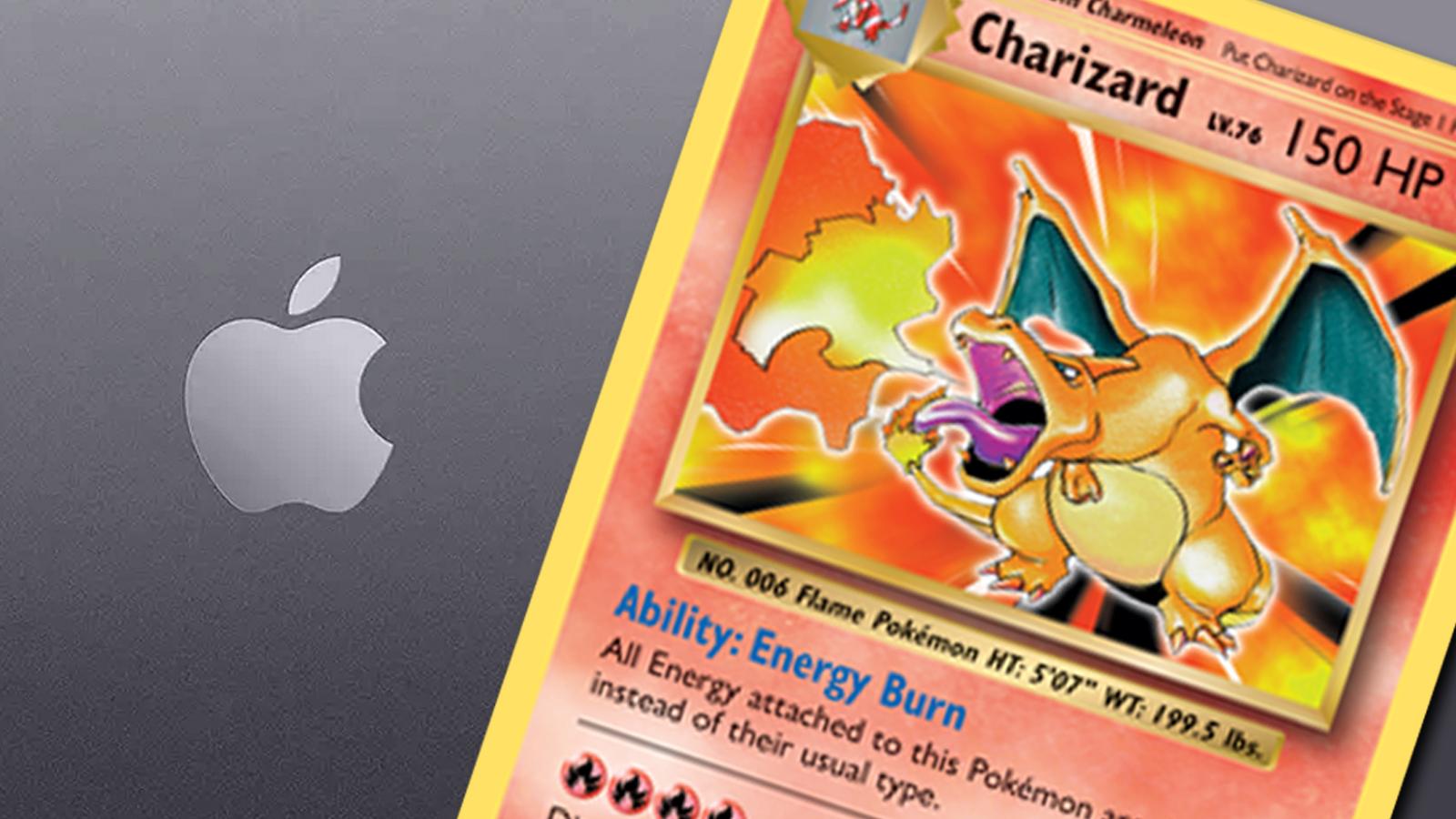 Pokemon Charizard Macbook