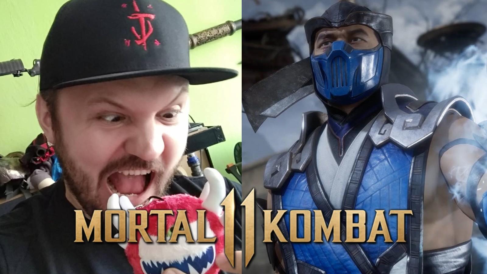 Mortal Kombat Sub-Zero Cosplay