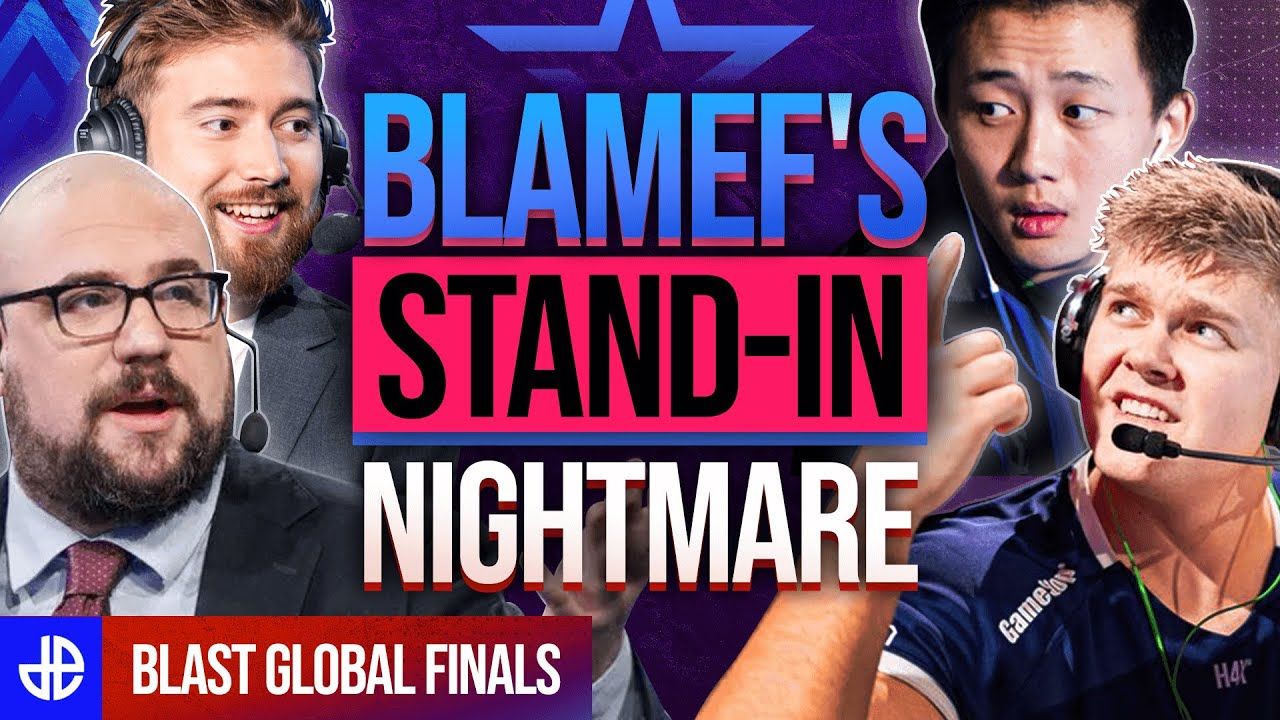 BlameF CSGO Stand In featured image