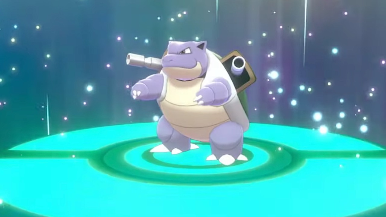 Shiny Blastoise pokemon sword shield