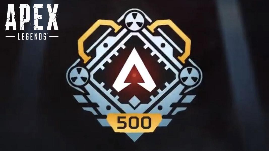 Apex Legends' level 500 badge