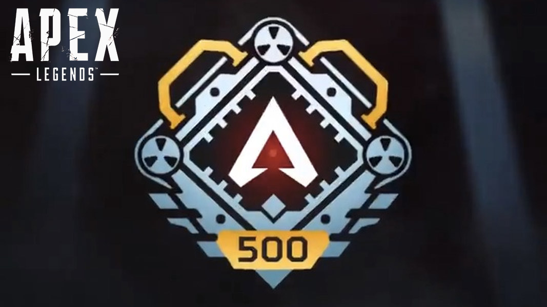 Apex Legends' level 500 badge