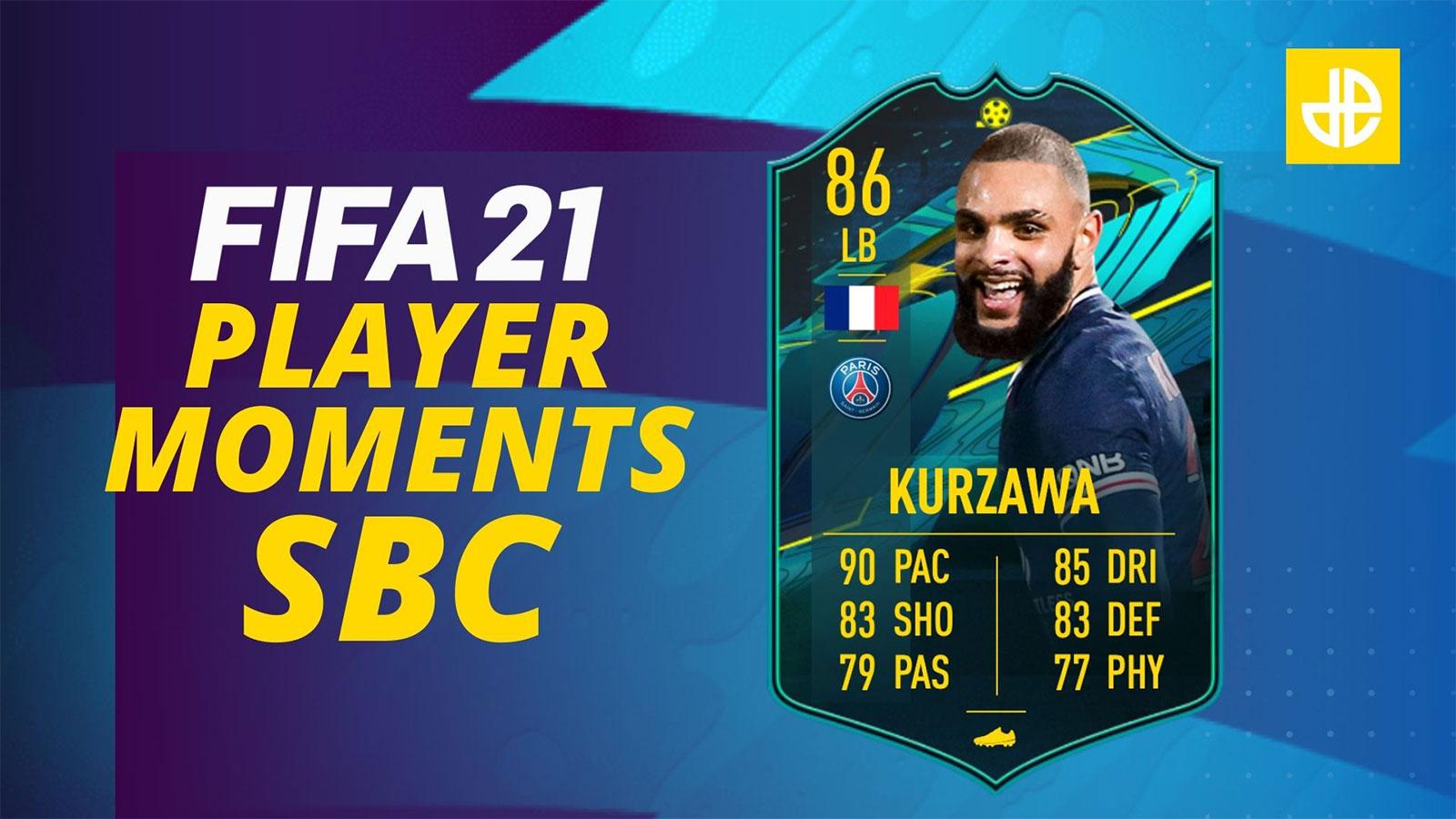 Kurzawa Player Moments SBC