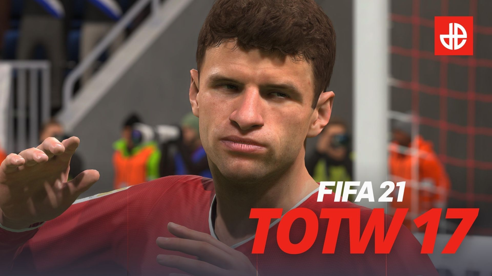 Thomas Muller Bayern Munich in Team of the Week TOTW FIFA 21 squad.
