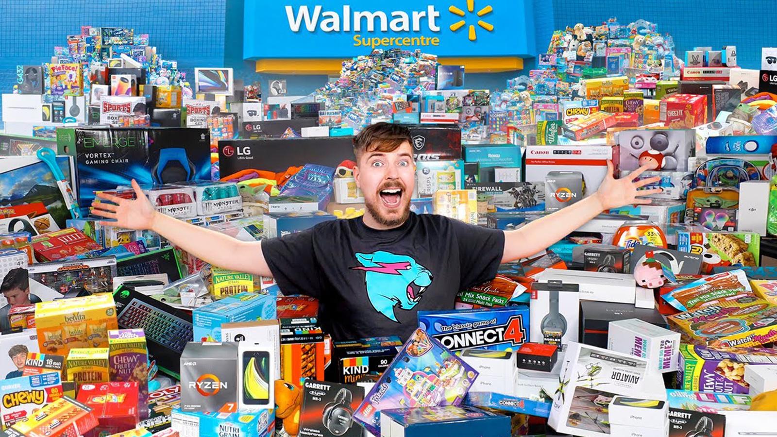 MrBeast Walmart