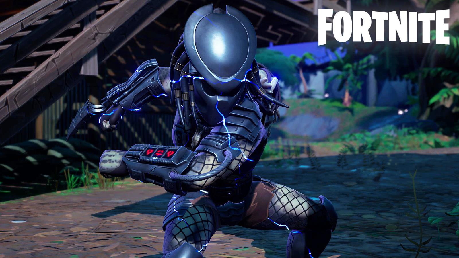 Predator Boss Fortnite