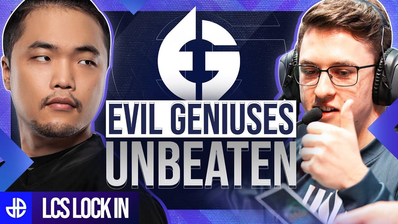 Evil Geniuses unbeaten in the LCS