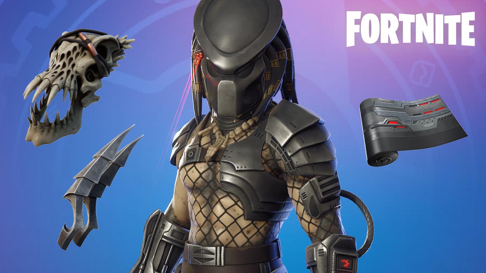 Fortnite Predator Skin and Cosmetics