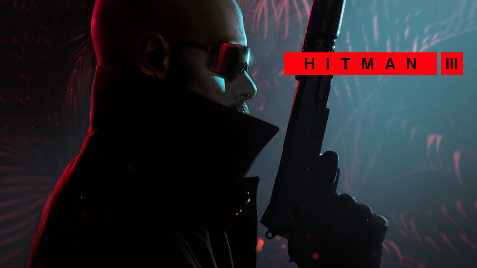 Dr Disrespect as Agent 47