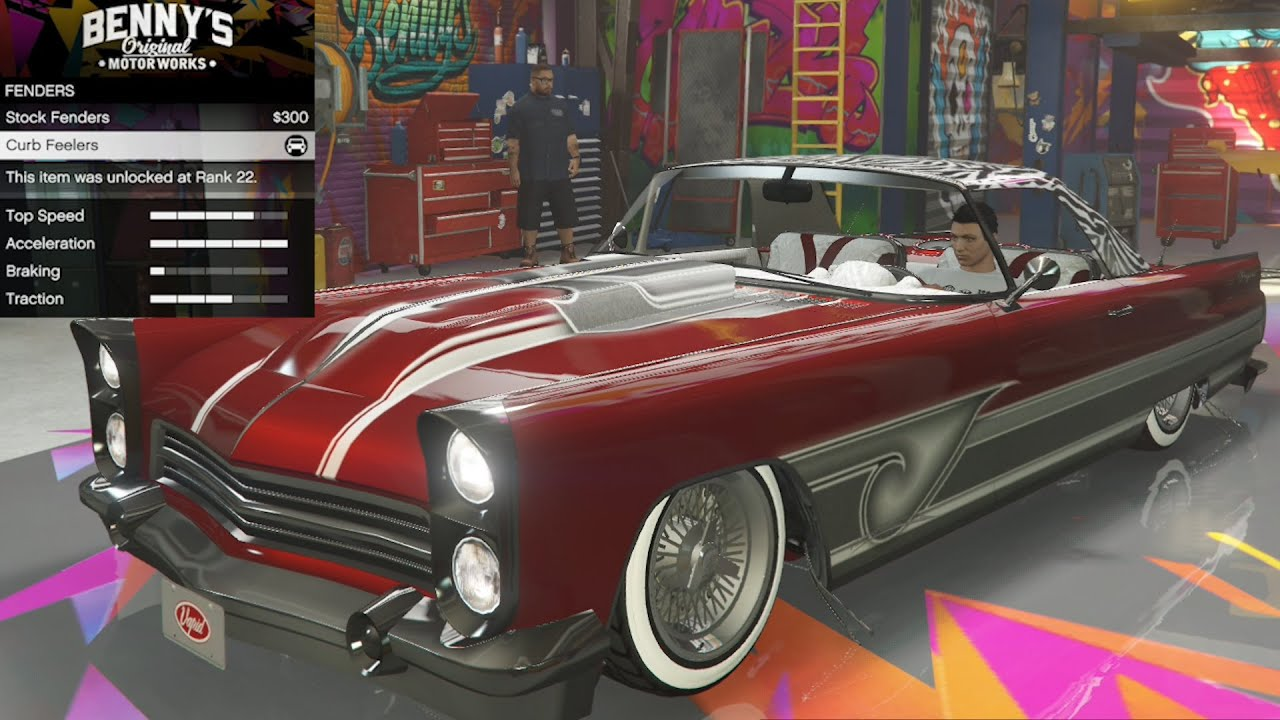 Peyote custom in gta online