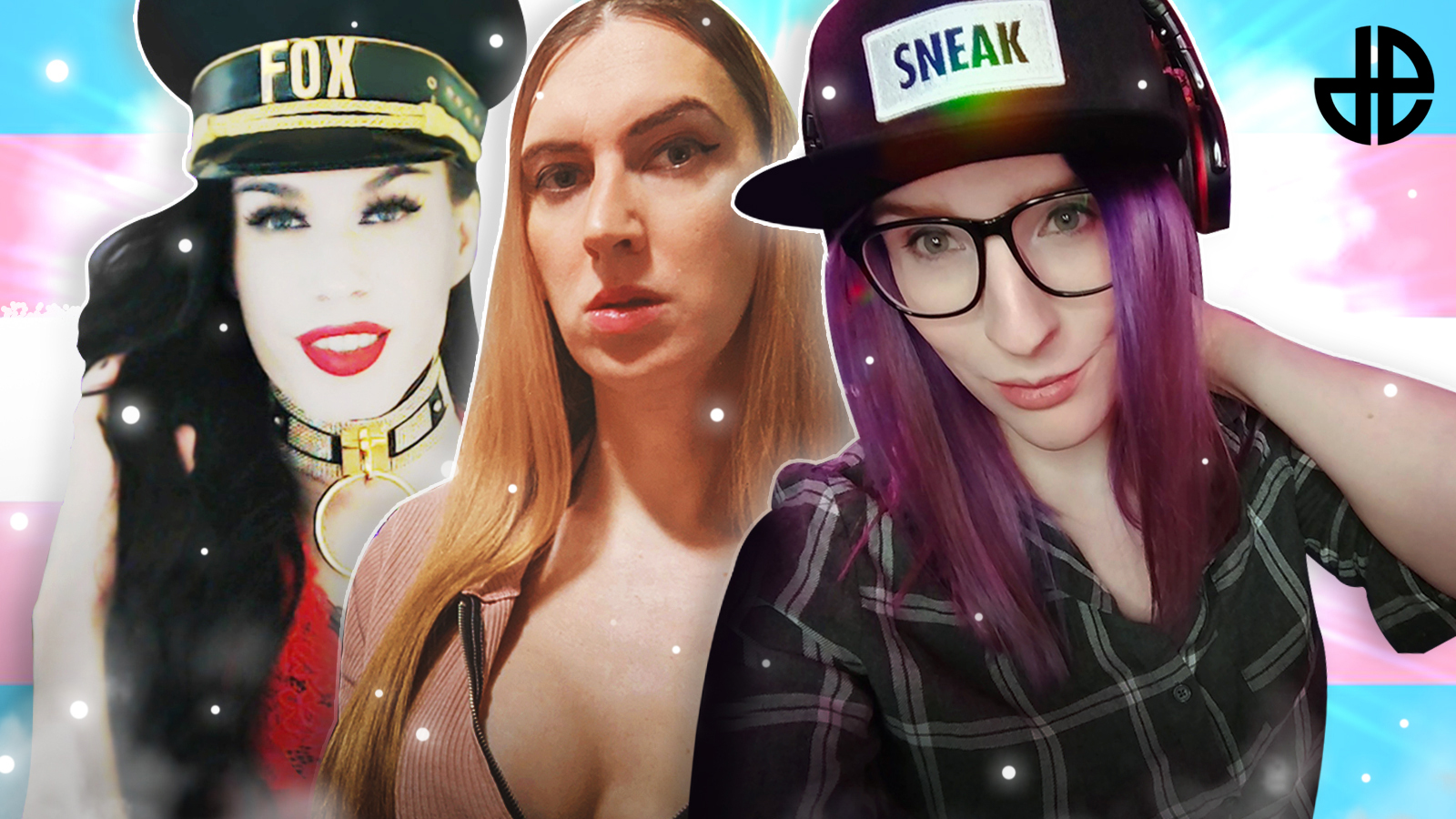 MSTRSSFOX, Elle Rows and Miabyte Trans Twitch Streamers