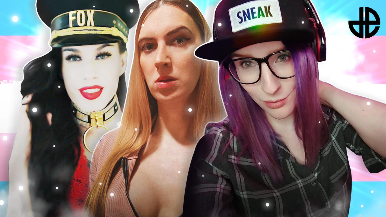 MSTRSSFOX, Elle Rows and Miabyte Trans Twitch Streamers