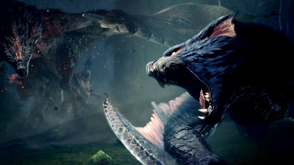 Nargacuga Monster Hunter World