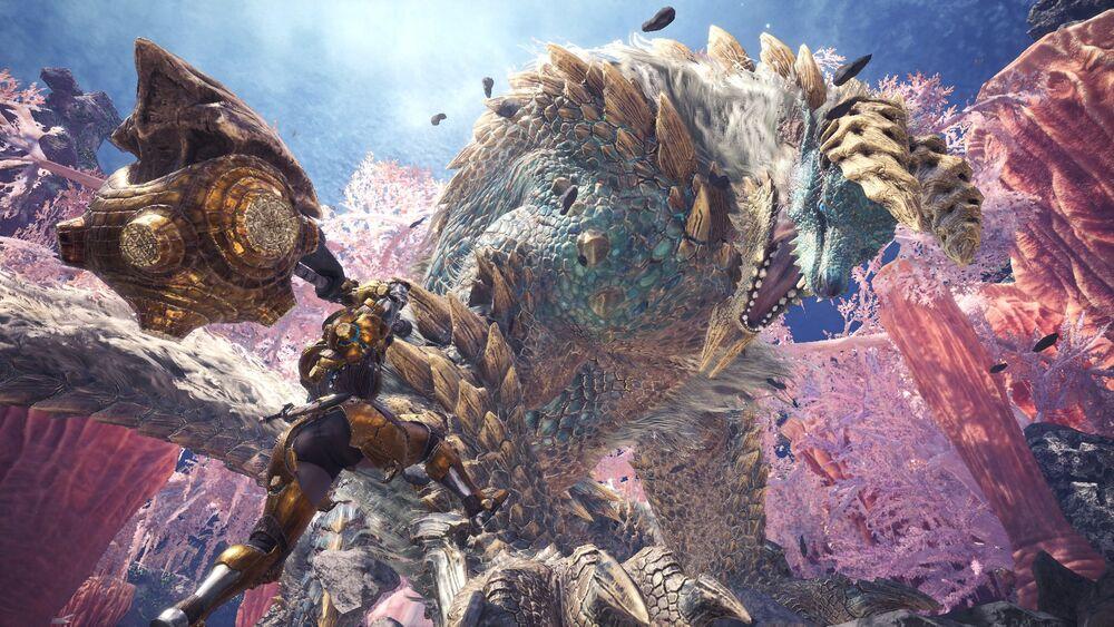 Zinogre Monster Hunter World