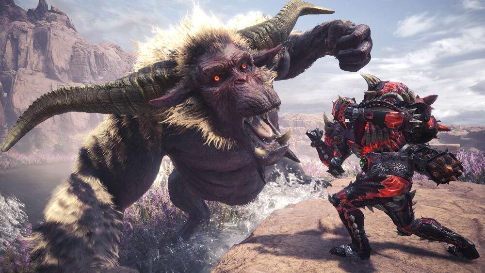 Rajang Monster Hunter World Iceborne
