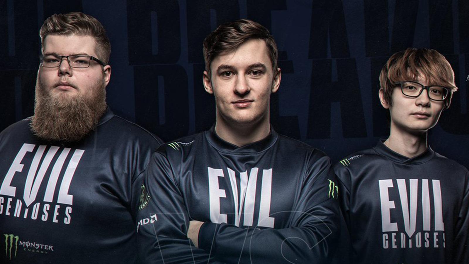 Evil Geniuses Rebranded Jerseys