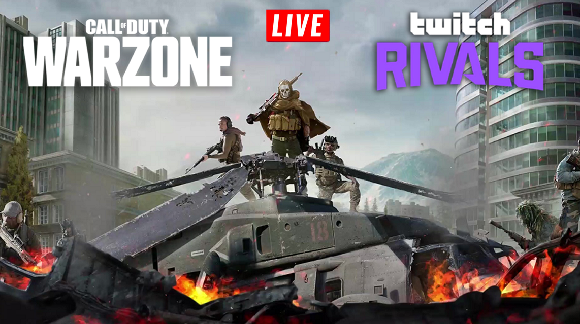 Warzone wallpaper for Twitch Rivals