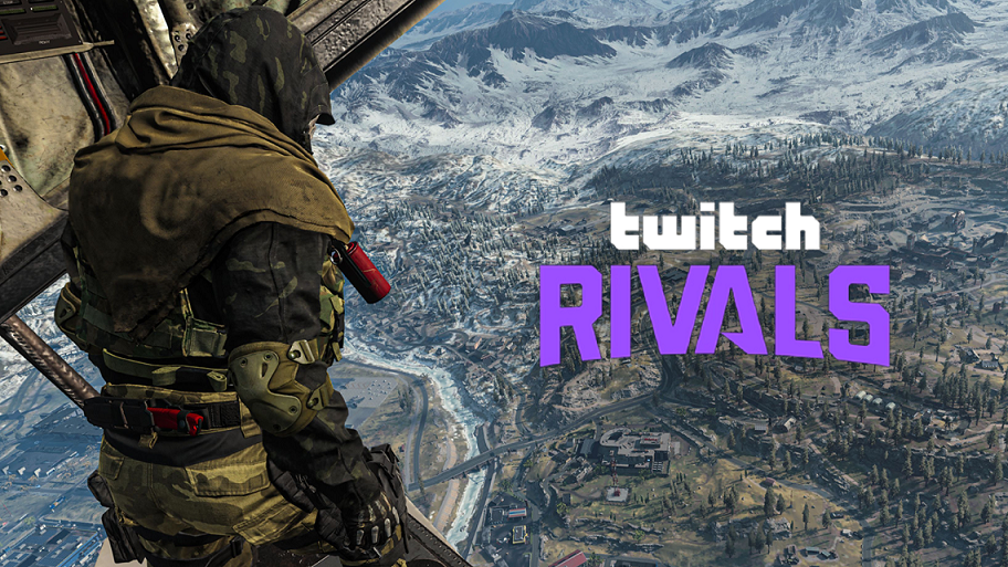 Twitch Rivals Warzone event