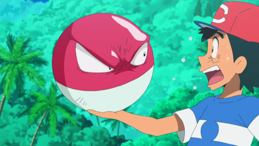"Voltorb's charm come its iconic ""Poke Ball"" look."