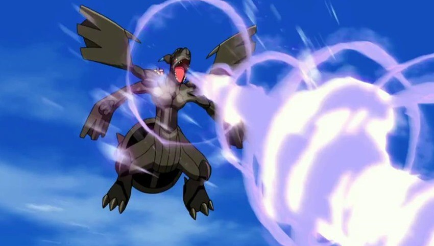 Zekrom may well be the most powerful Electric Pokemon in the series.