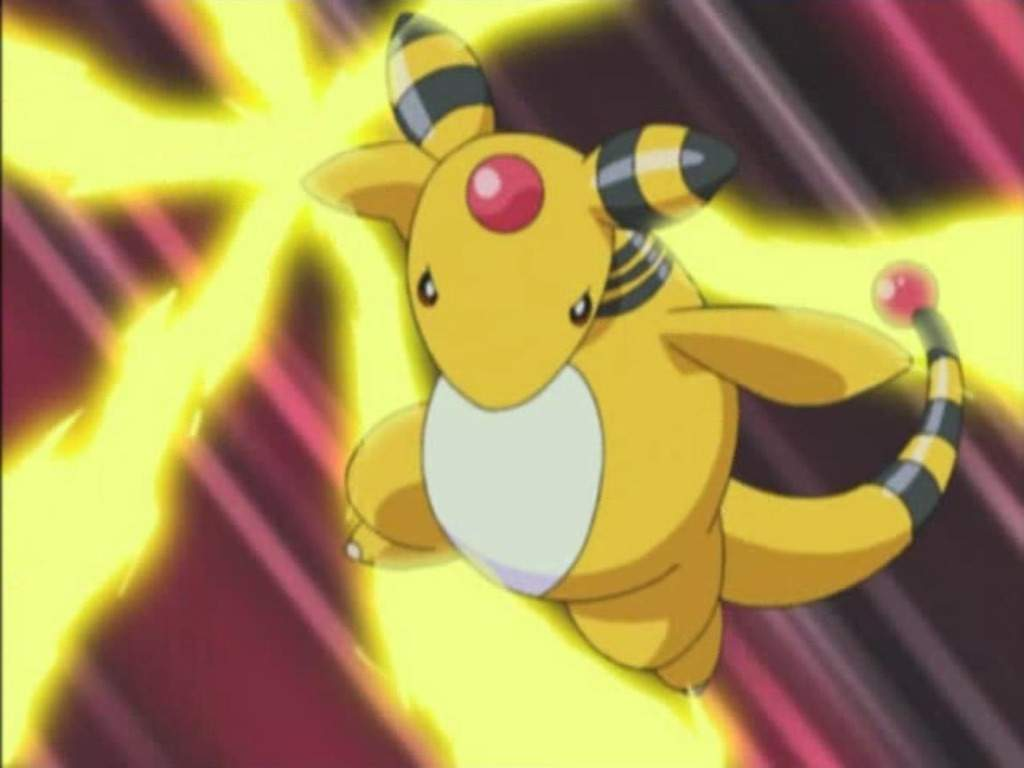 Ampharos packs a mean Electric punch throughout the generations.
