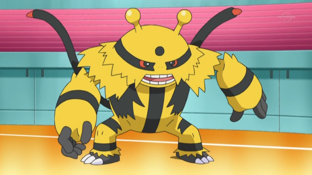 Electivire brings every element to the battlefield: truly a versatile Electric battler.