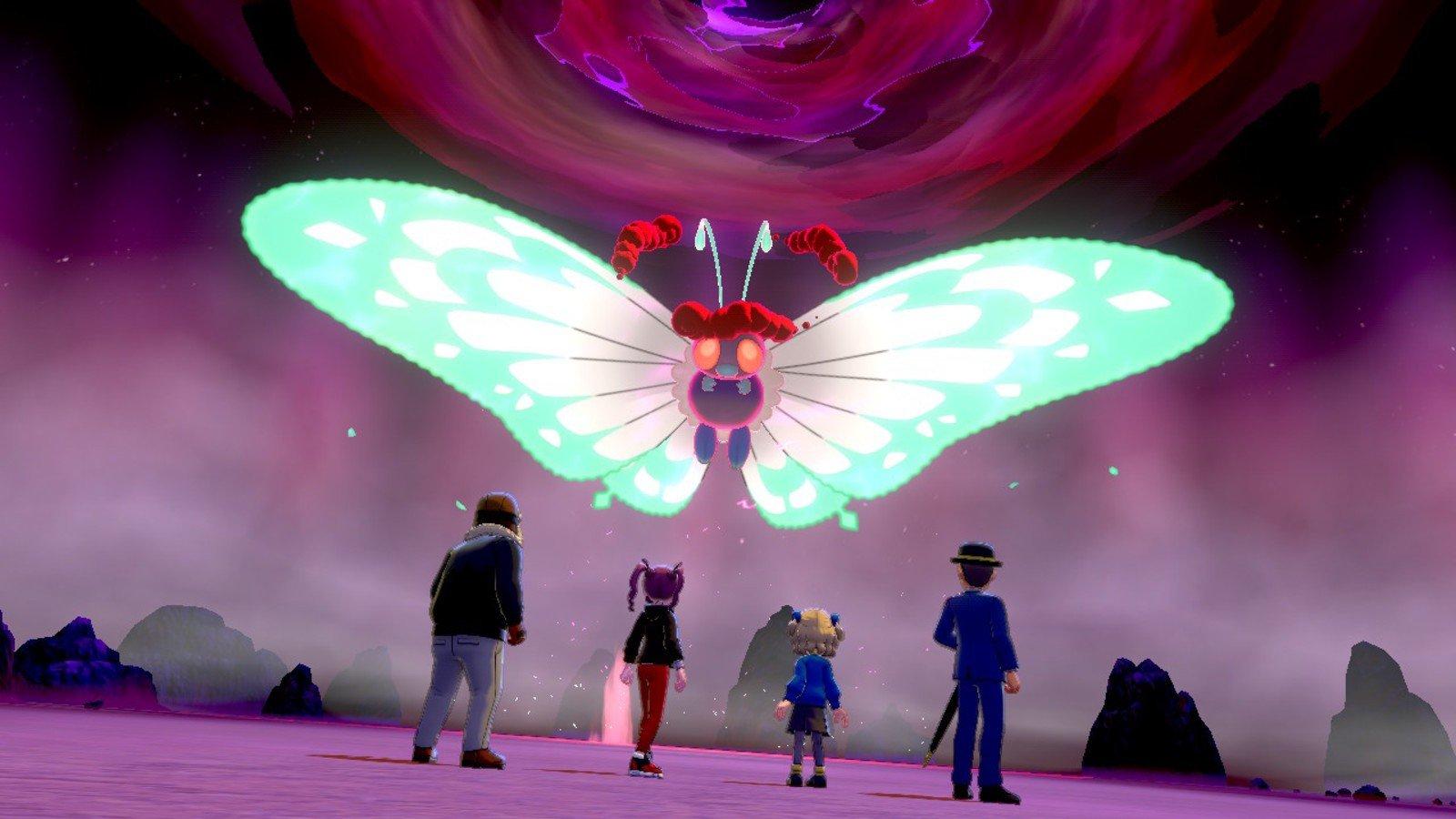 Raid Battle Pokemon Sword & Shield